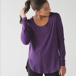 Lululemon Love Scoop Long Sleeve Shirt